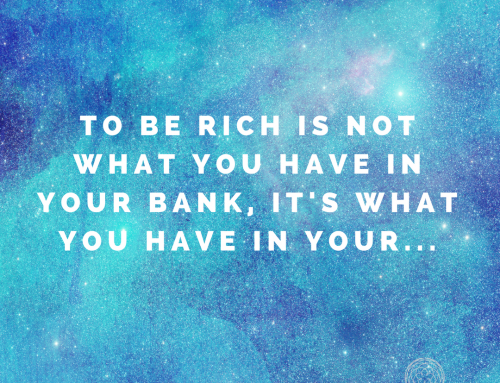 What does it mean to be rich?