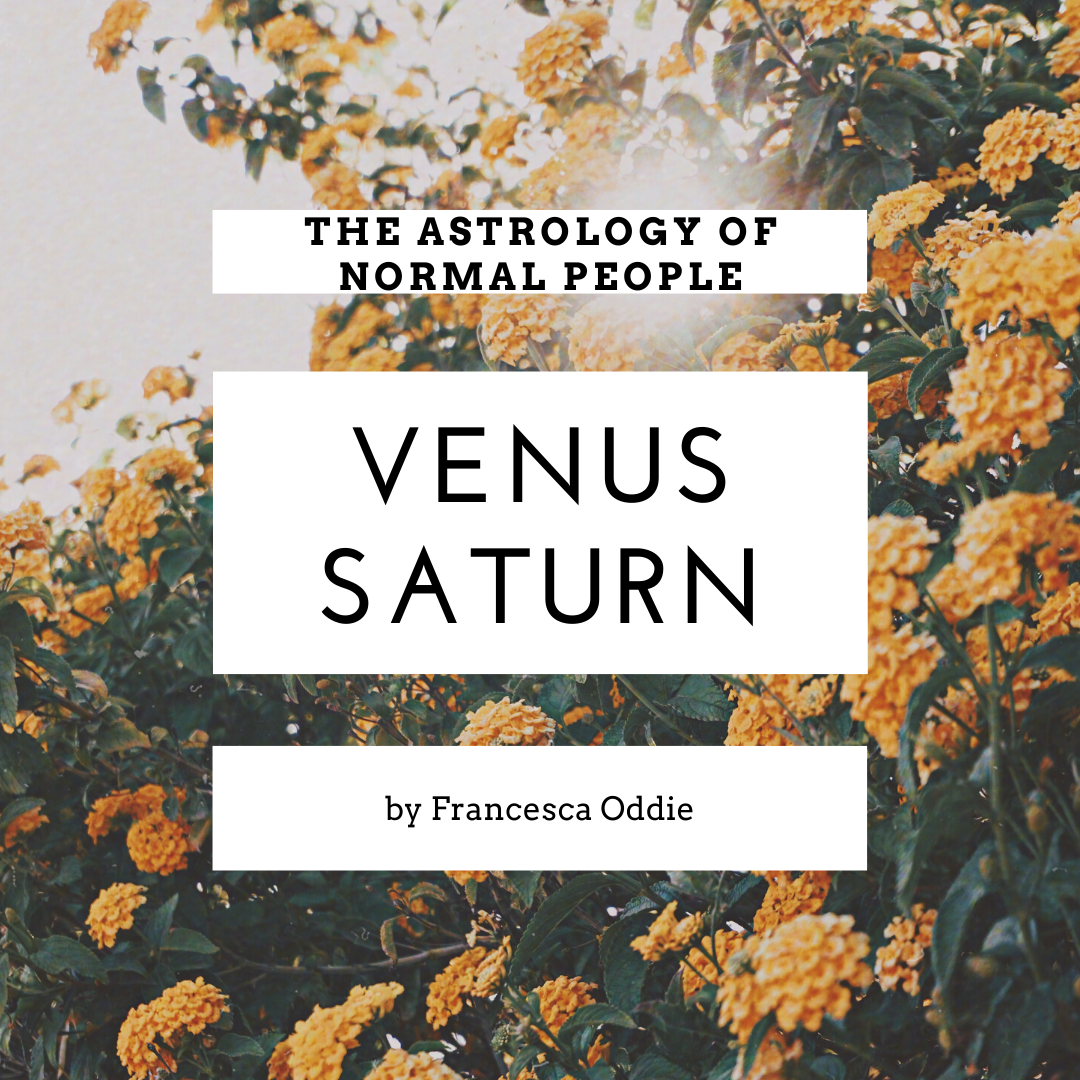 Venus Saturn in Romance
